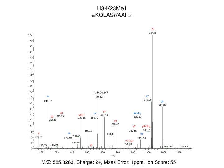 H3-K23Me1