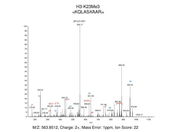 H3-K23Me3