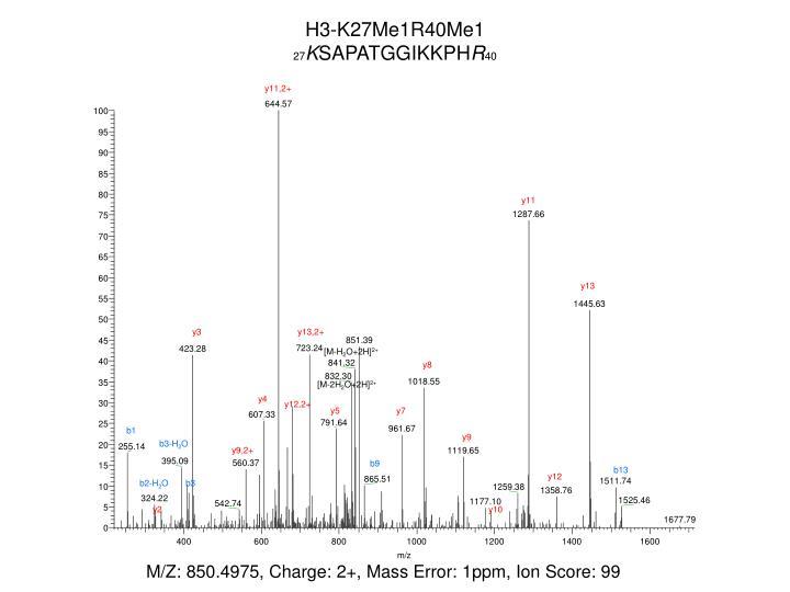 H3-K27Me1R40Me1