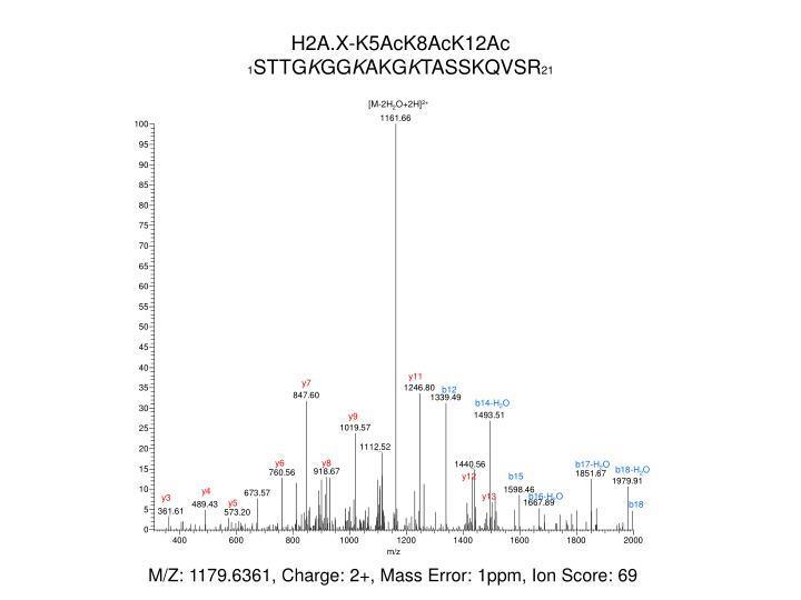 H2A.X-K5AcK8AcK12Ac