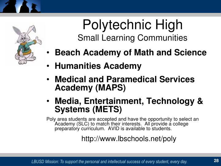 Polytechnic High