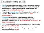 technopreneurship di asia