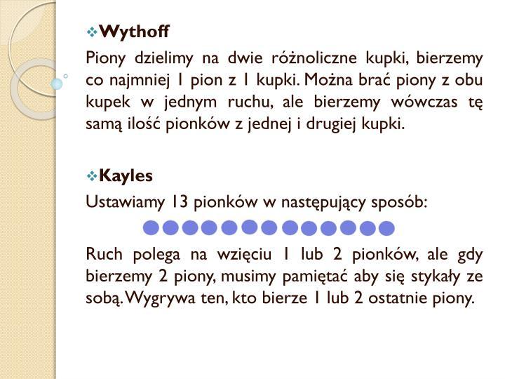 Wythoff