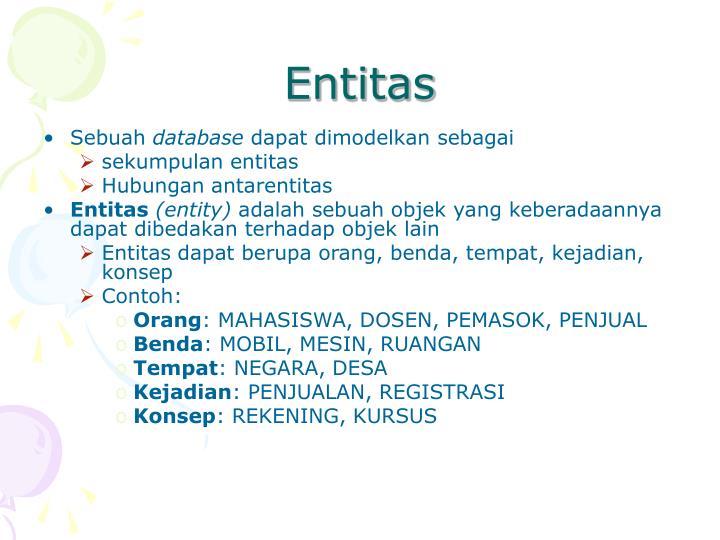 Entitas