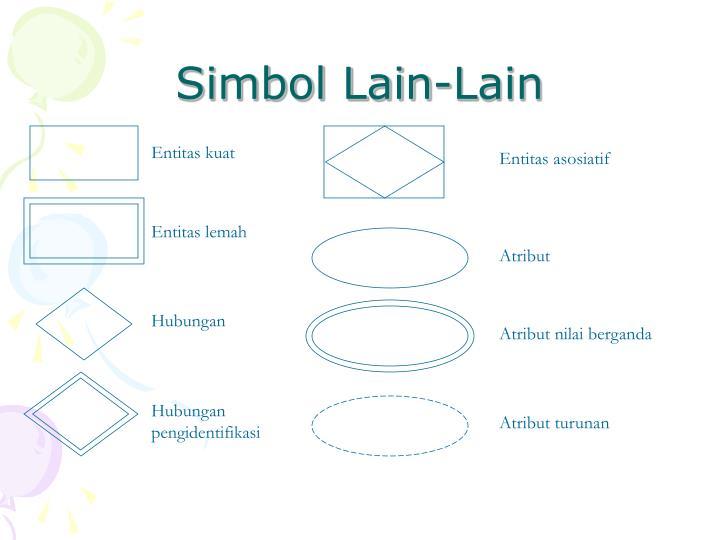 Simbol Lain-Lain