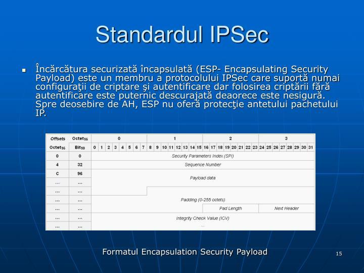 Standardul IPSec