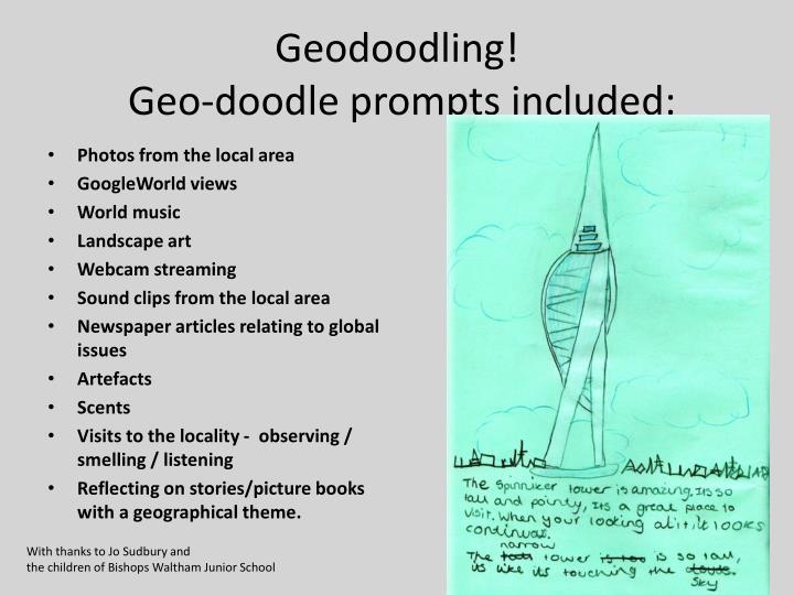 Geodoodling!