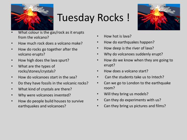 Tuesday Rocks !