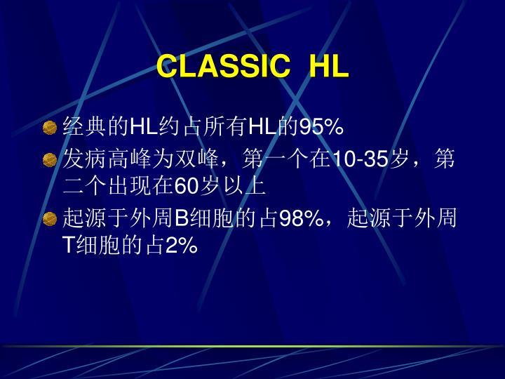 CLASSIC  HL