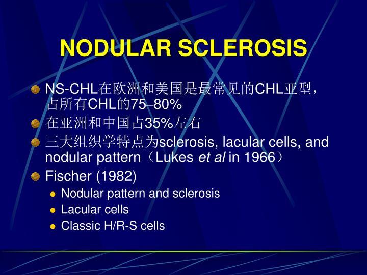 NODULAR SCLEROSIS