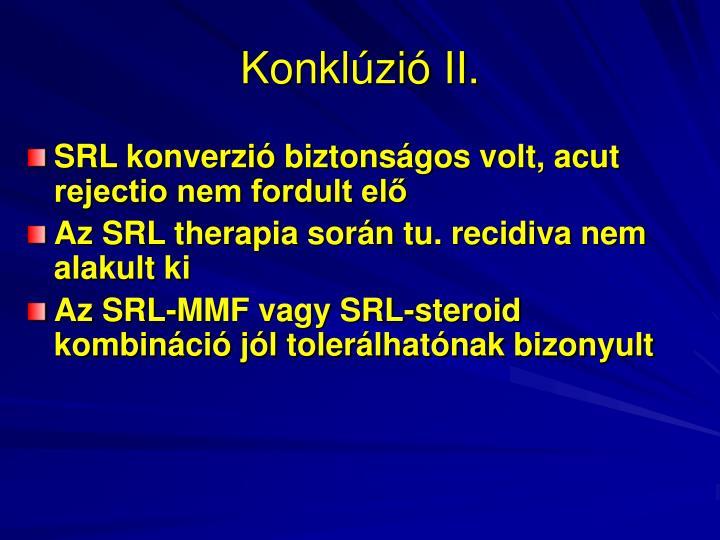 Konklúzió II.