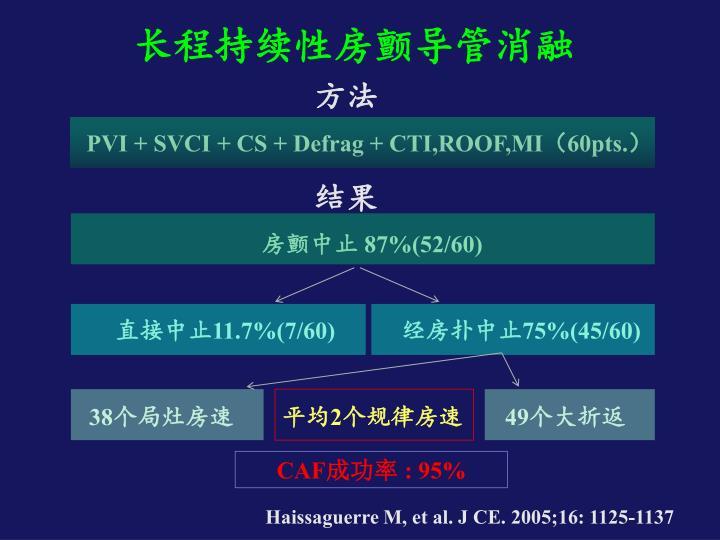 长程持续性房颤导管消融