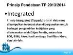 prinsip pendataan tp 2013 20144