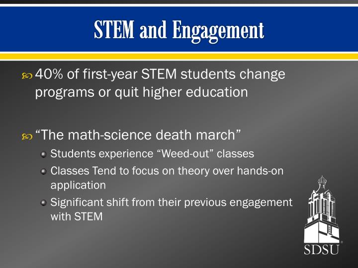 STEM and Engagement