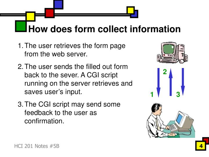How does form collect information