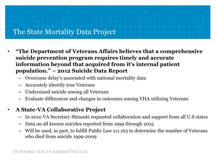 The State Mortality Data Project
