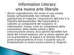 information literacy una nuova arte liberale1