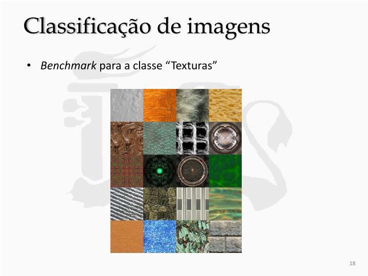 Classificação de imagens