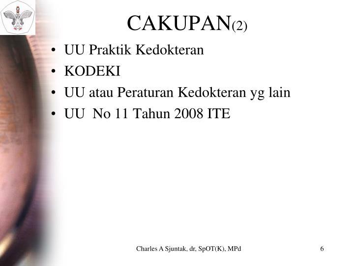 CAKUPAN