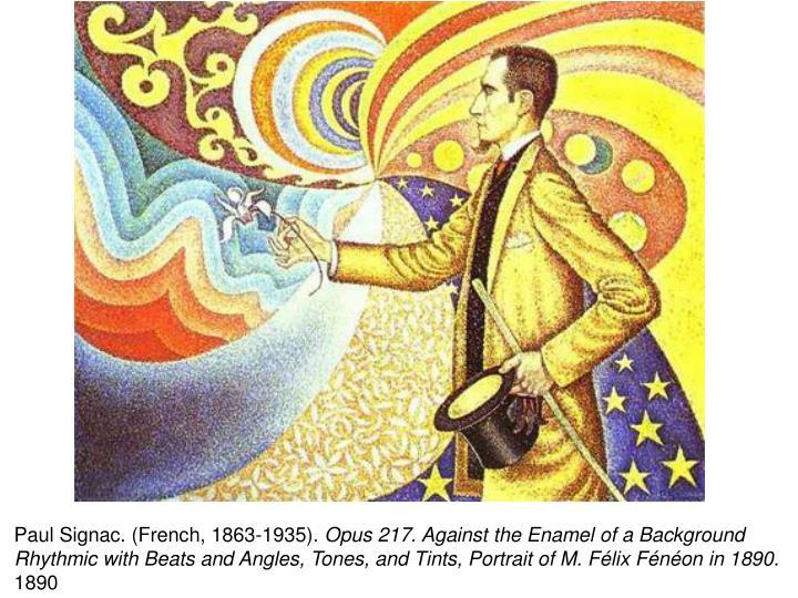 Paul Signac. (French, 1863-1935).