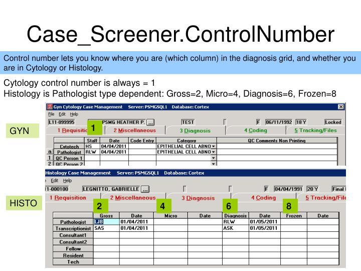 Case_Screener.ControlNumber