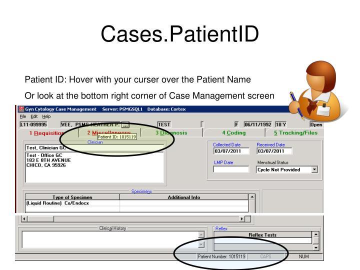 Cases.PatientID