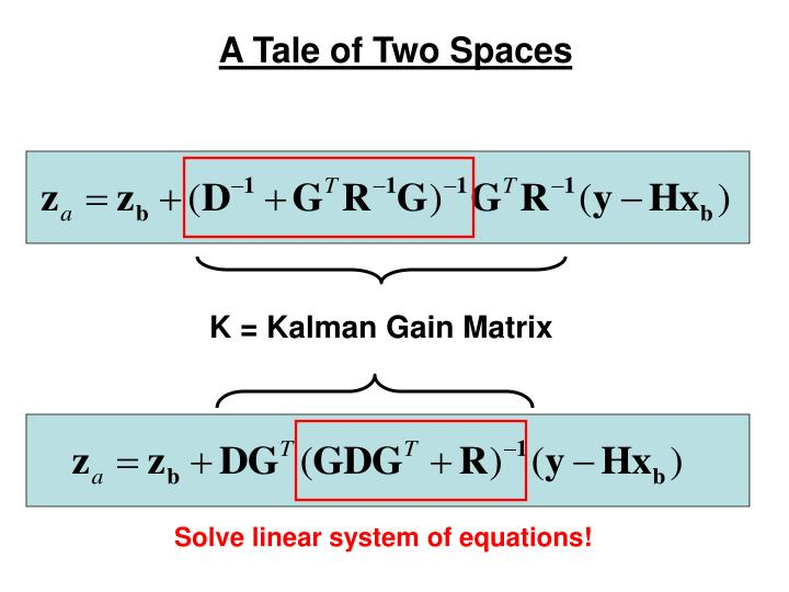 Solve linear system of equations!