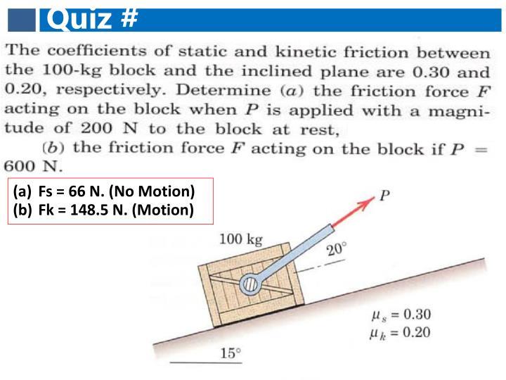 Quiz #
