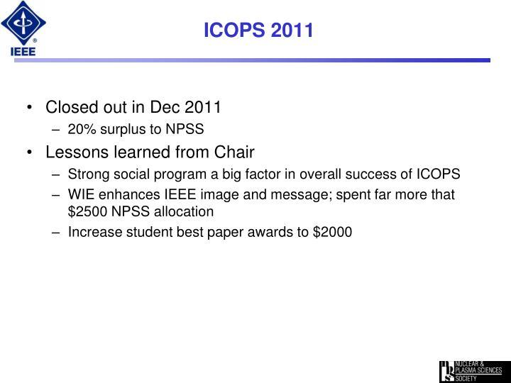 ICOPS 2011