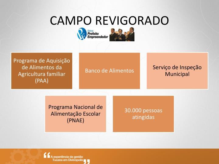 CAMPO REVIGORADO