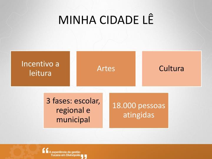 MINHA CIDADE LÊ