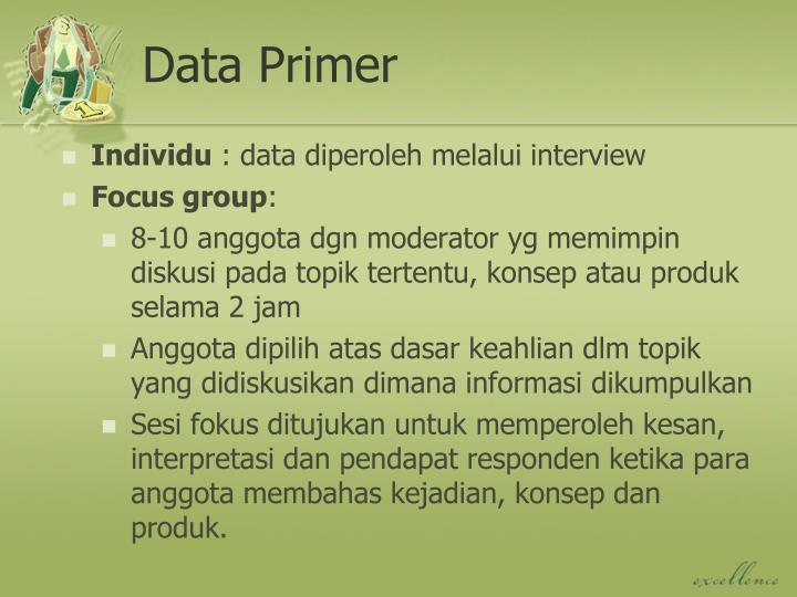 Data Primer