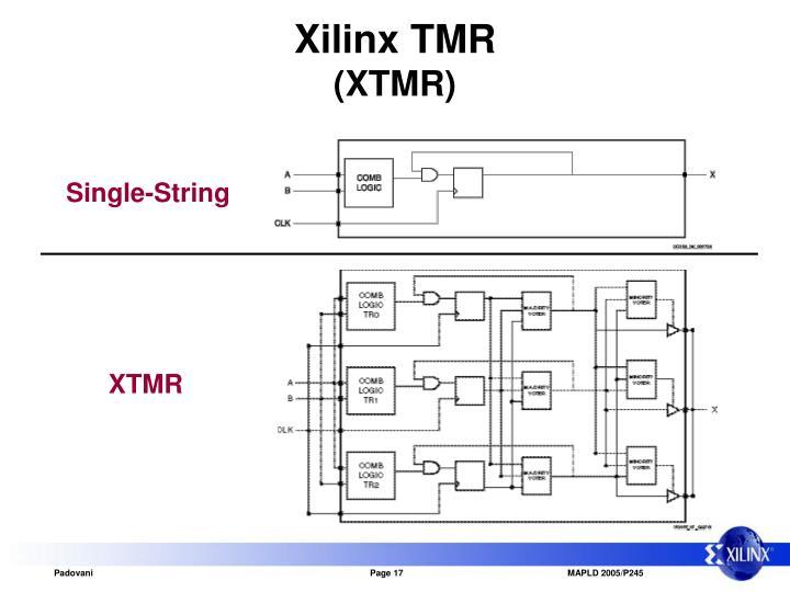 Xilinx TMR