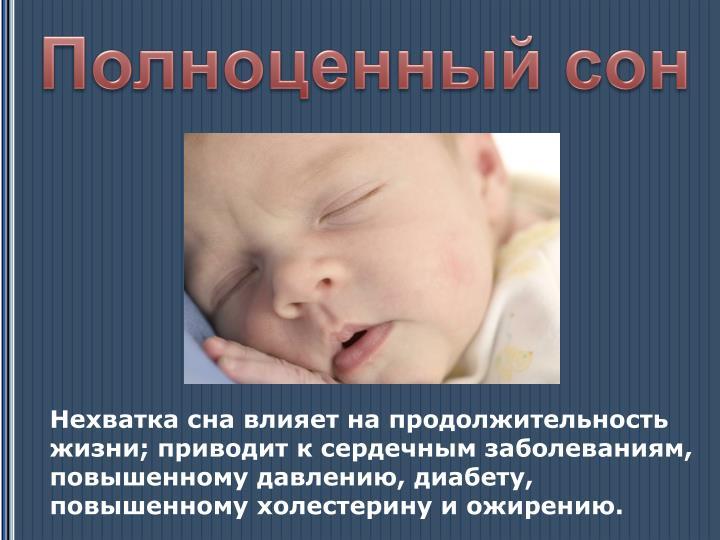 Полноценный сон