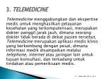 3 telemedicine
