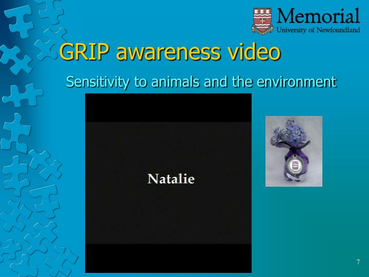 GRIP awareness video