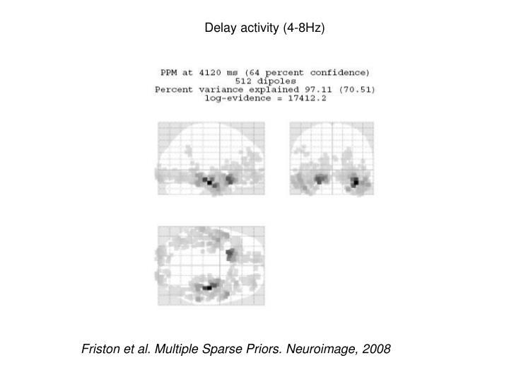 Delay activity (4-8Hz)