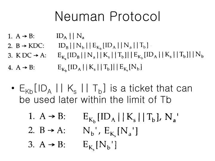 Neuman Protocol