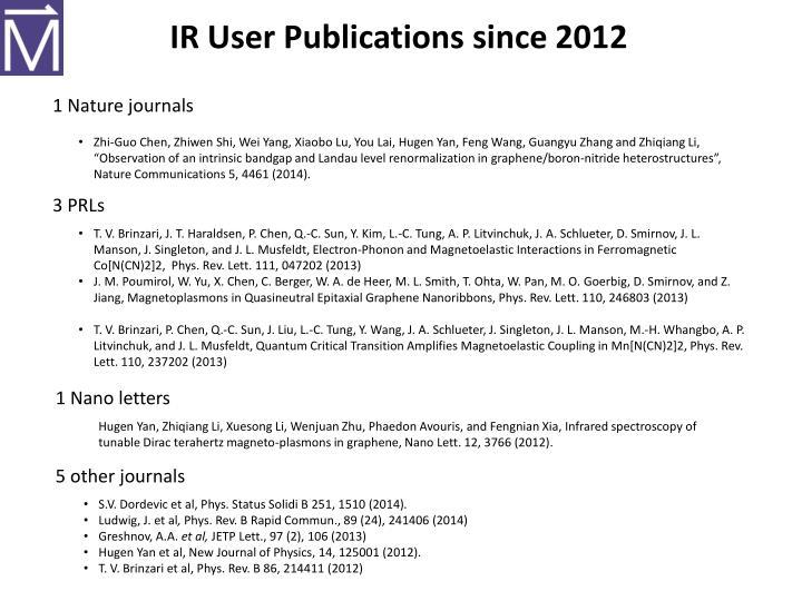 IR User