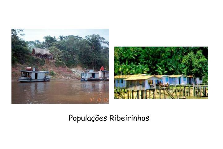 Populações Ribeirinhas
