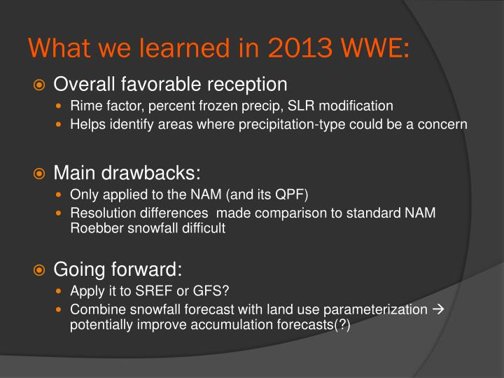 What we learned in 2013 WWE: