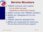 service structure
