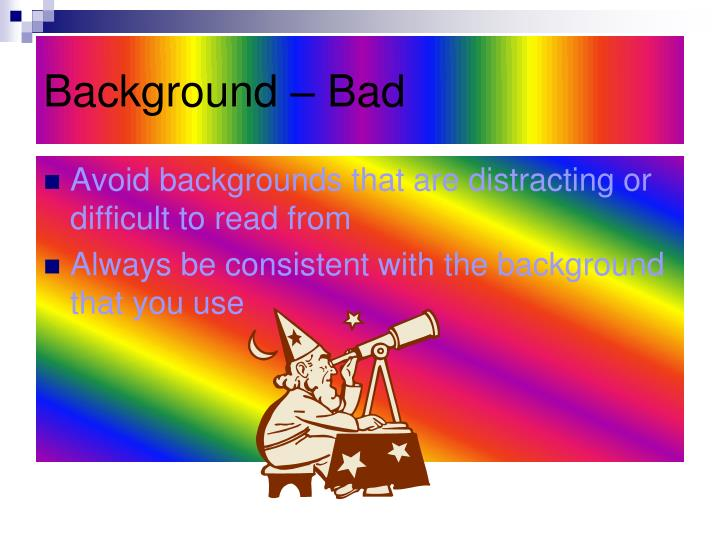 Background – Bad