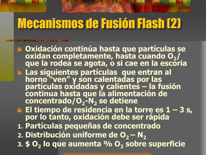Mecanismos de Fusión Flash (2)