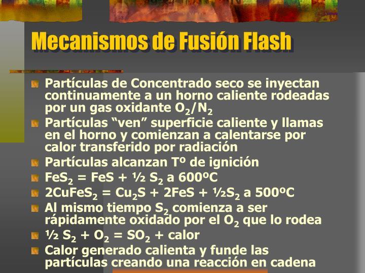 Mecanismos de Fusión Flash