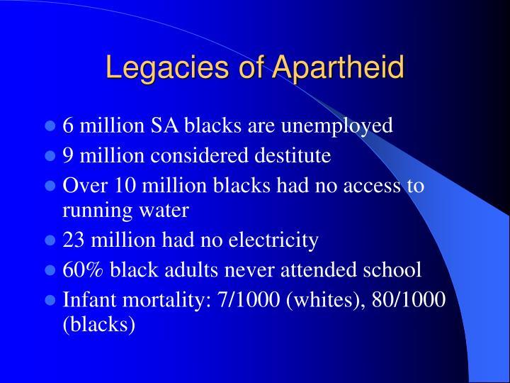 Legacies of Apartheid