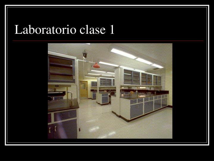 Laboratorio clase 1