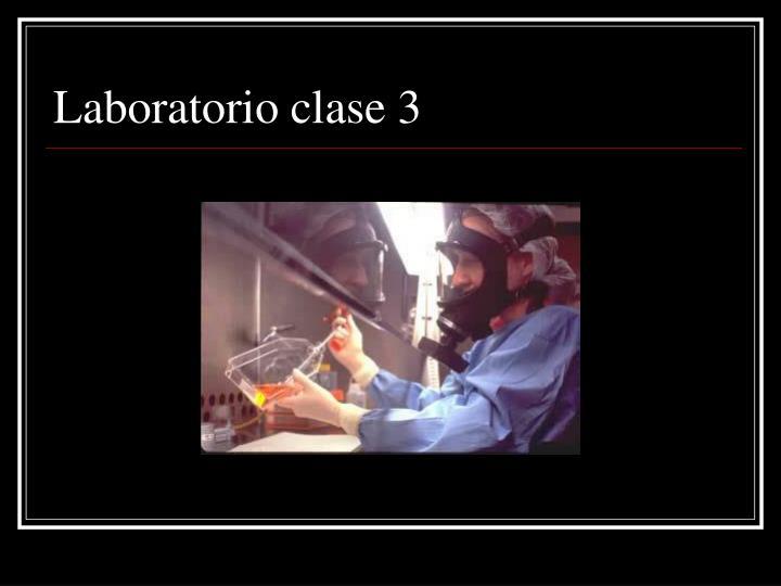 Laboratorio clase 3