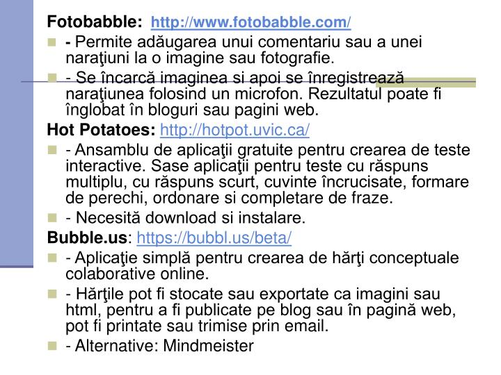 Fotobabble: