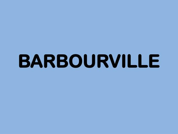 BARBOURVILLE
